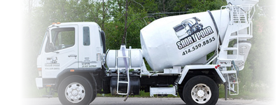 Short Pour Delivery Services in Milwaukee and Waukesha Counties WI